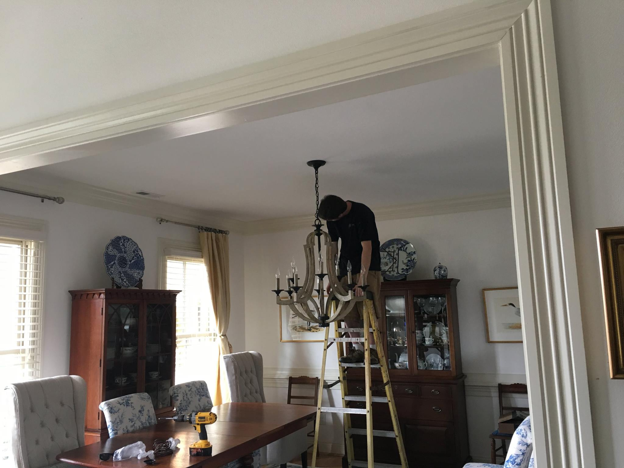Kevins handy man services virginia beach kevin author at kevins chandelier installation chandelier installation mozeypictures Choice Image