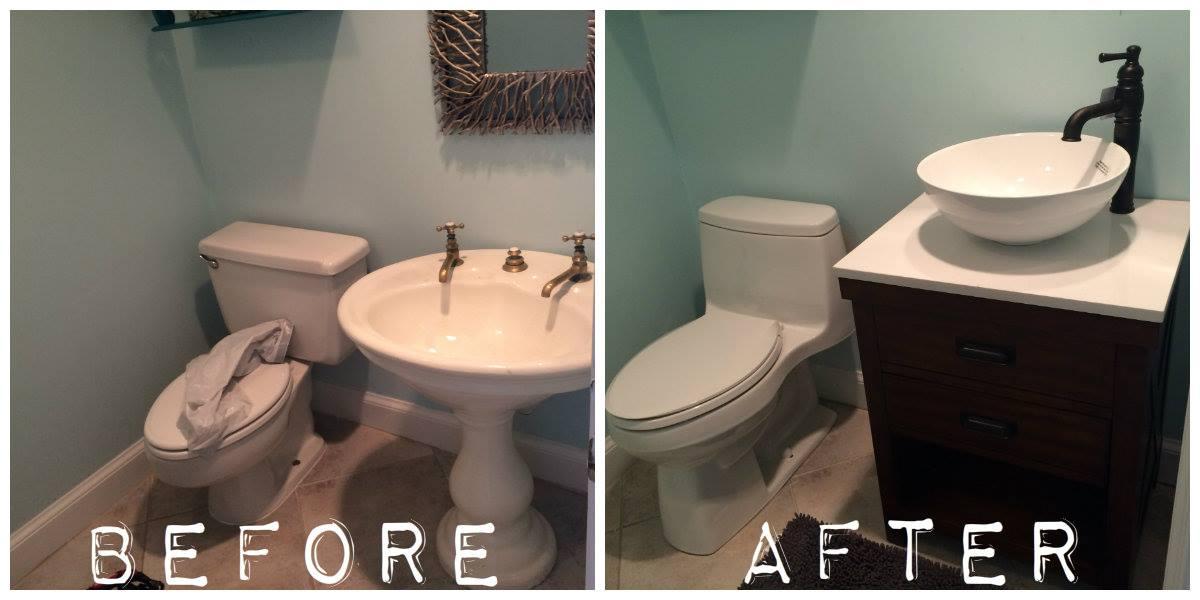 Kevins Handy Man Services Virginia Beach Bathroom Facelift - Bathroom facelift