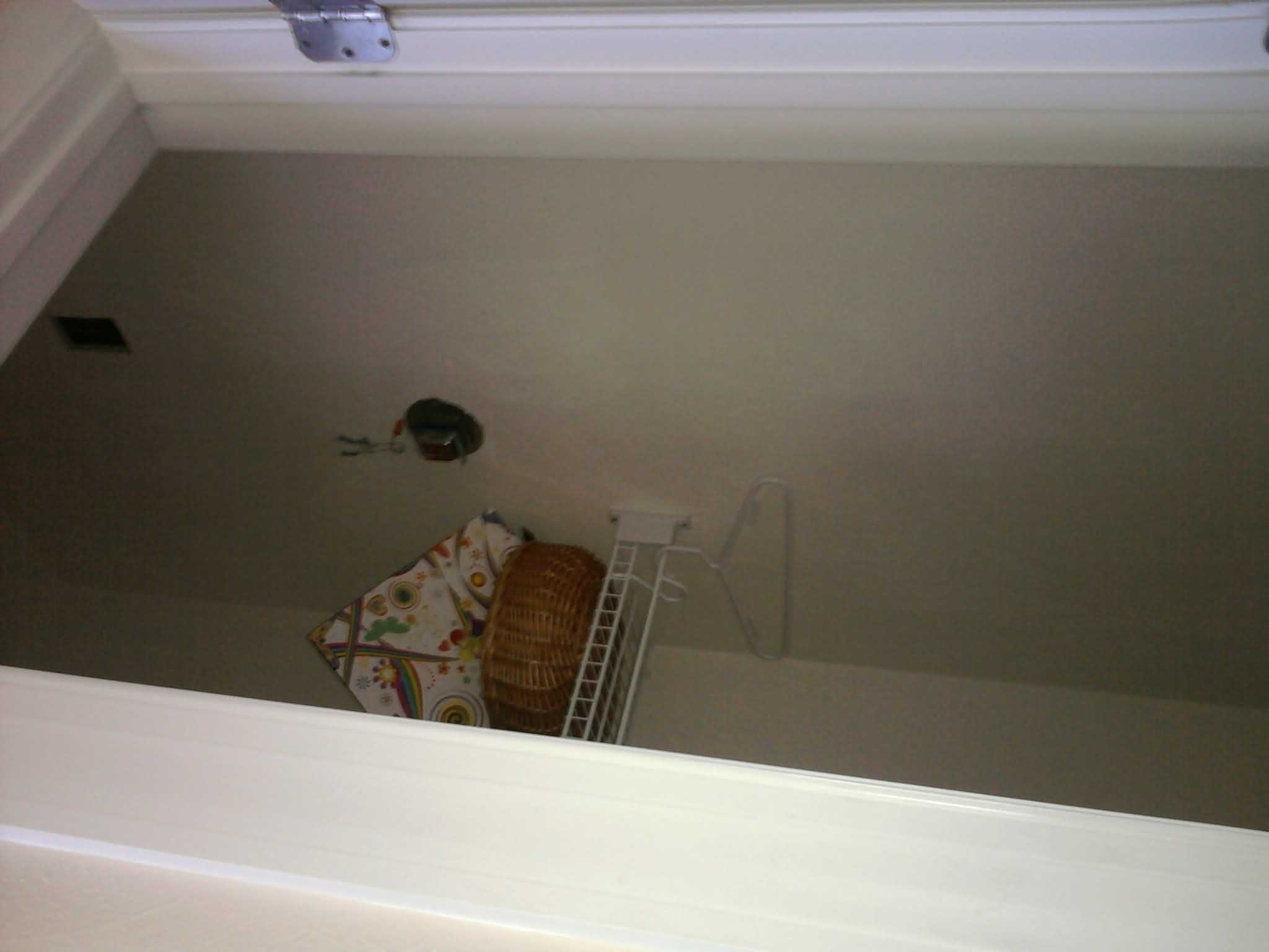 Kevins Handy Man Services Virginia Beach New Light Fixture Install Wiring A Closet Before After